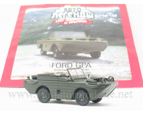 1:43 Ford GPA amphibious with magazine #190