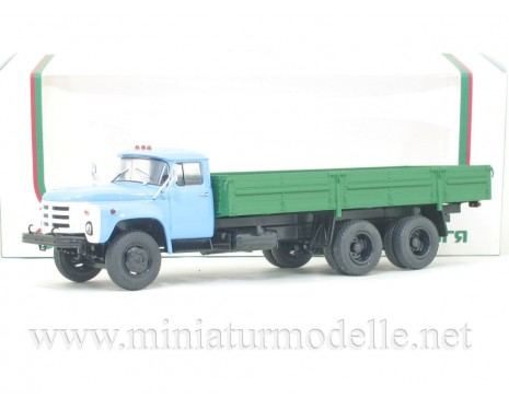 1:43 ZIL 133 GYa load platform blue/ green