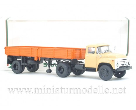 1:43 ZIL 130 V1 Tractor with semi trailer ODAZ 885