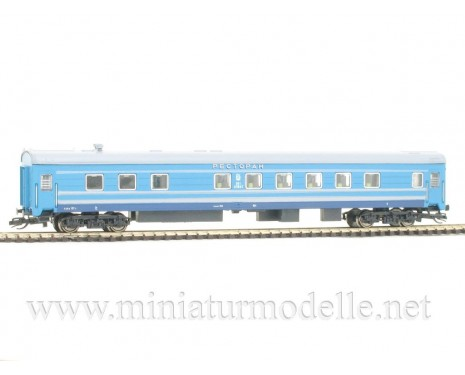 1:120 TT 2231-1 Restaurant car of the RZD livery, era 5