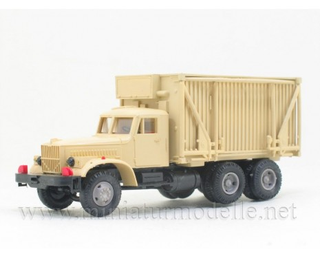 H0 1:87 KRAZ 257 field hospital FK 1, beige