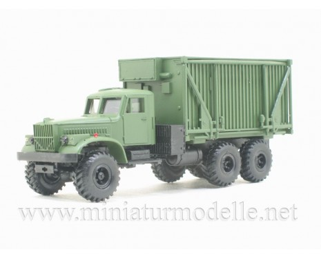 H0 1:87 KRAZ 255 B Command and staff vehicle FK 1, military