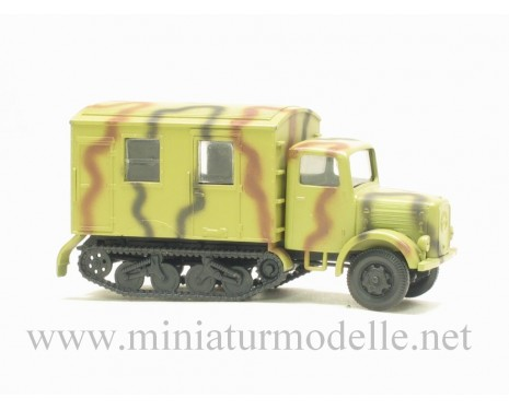 H0 1:87 Magirus S 330 Maultier closed side camouflage military
