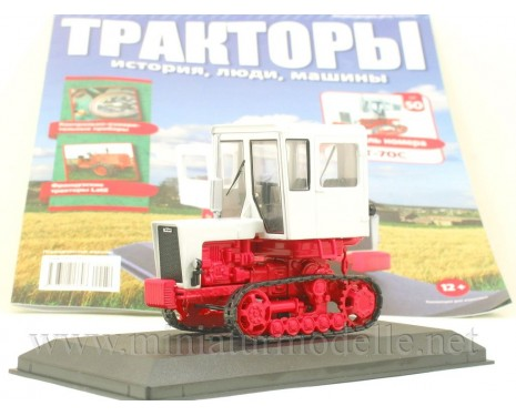 1:43 Raupen Schlepper Weinbau Traktor T 70 S Zeitschrift #50