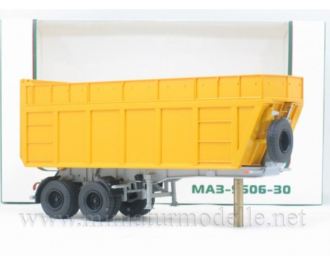 1:43 MAZ 9506-30 dumping chip trailers