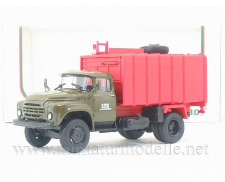 1:43 ZIL 130 Garbage truck KO 413 orange