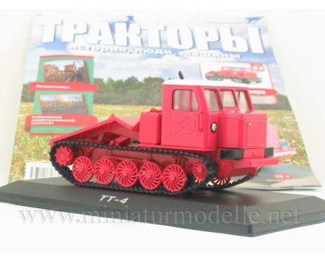 1:43 Traktor TT 4 Forst-Rückeraupe mit Zeitschrift #53