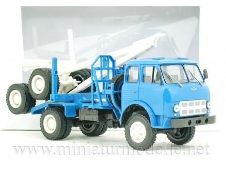 1:43 MAZ 509 A Holztransporter mit Rungen-Anhänger