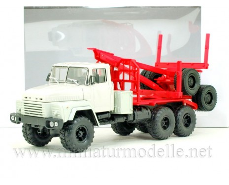 1:43 KRAZ 260 L timber carrying vehicle