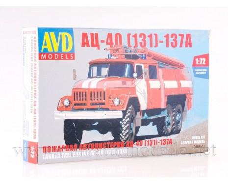 1:72 ZIL 131 Tankloeschfahrzeuge AC-40 137A FW Feuerwehr kit