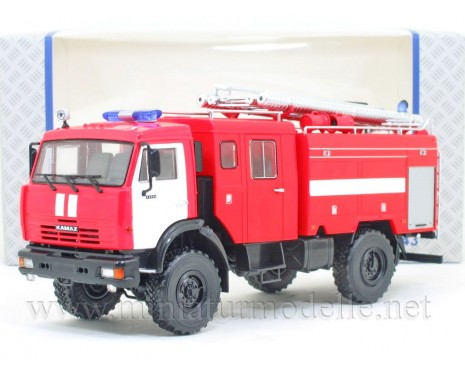 1:43 KAMAZ 43502 Tankloeschfahrzeuge AC-3-40 FW Feuerwehr
