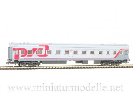 1:120 TT 72014 Long-distance sleeping car type Ammendorf of the RZD livery, era 6
