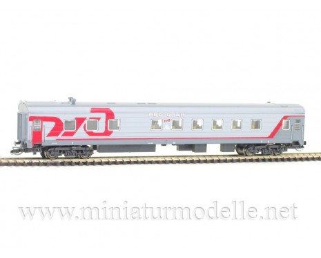1:120 TT 72214 Restaurant car of the RZD livery, era 6