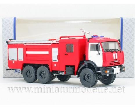 1:43 KAMAZ 43118 Tankloeschfahrzeuge AC-5-40 FW Feuerwehr