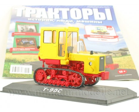 1:43 Crawler tractor T 90 S with magazine #62