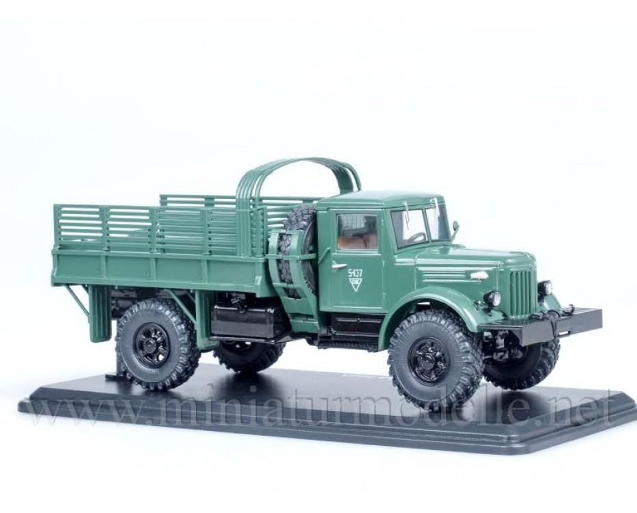 1:43 MAZ 502 A load platform, military, SSM1123, Start Scale Models - SSM by www.miniaturmodelle.net