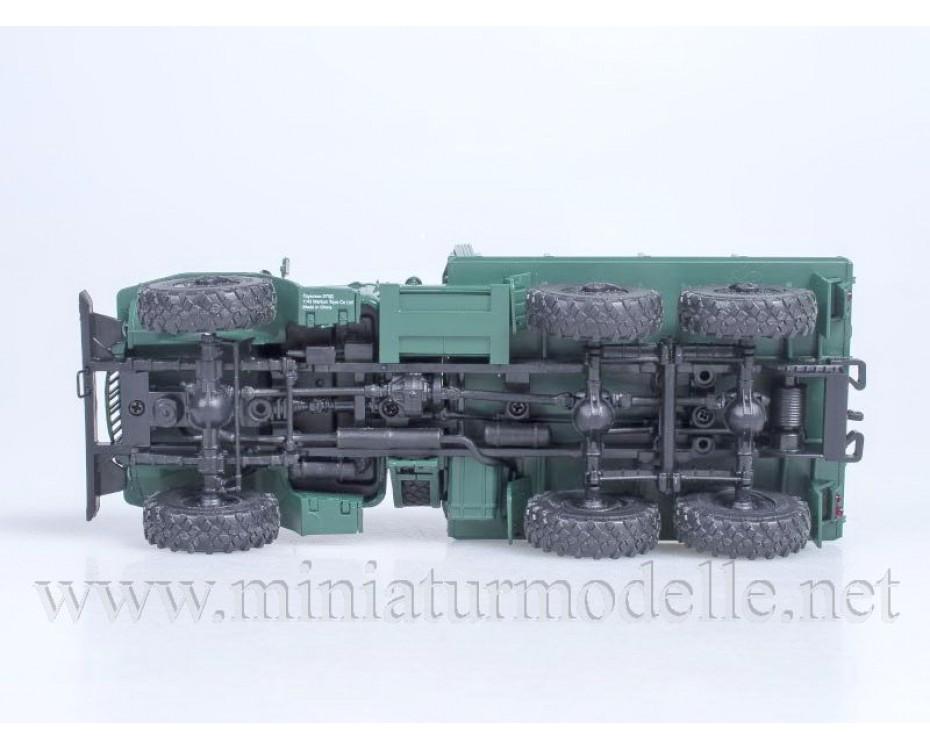 1:43 URAL 375 D high body load platform, military