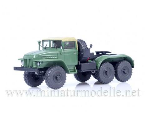 1:43 URAL 375 S Solozugmaschine (Planenverdeck), militär