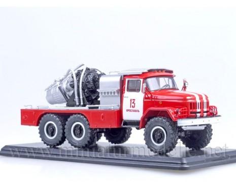 1:43 ZIL 131 mit Jet-Triebwerk AGVT 100, FW Feuerwehr