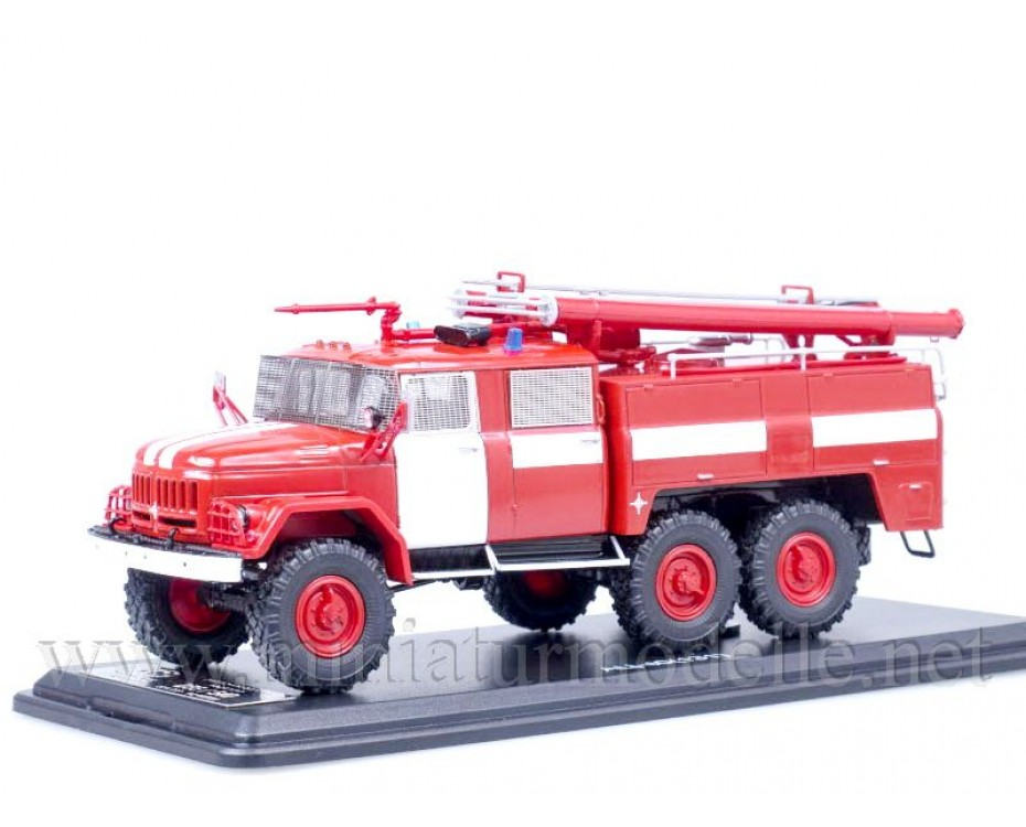 1:43 ZIL 131 hose and ladder fire AC 40, limited edition