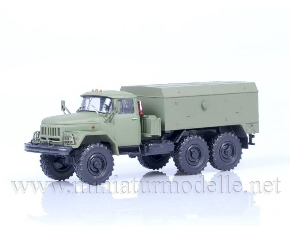 1:43 ZIL 131 engine heater UMP 350, military