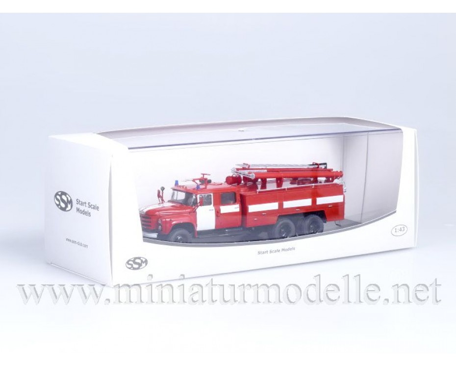 1:43 ZIL 133 JaG Tankloeschfahrzeuge AC 40 181 A, FW Feuerwehr