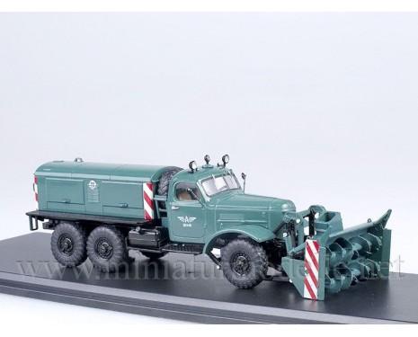 1:43 ZIL 157 E snow blower D 470, military