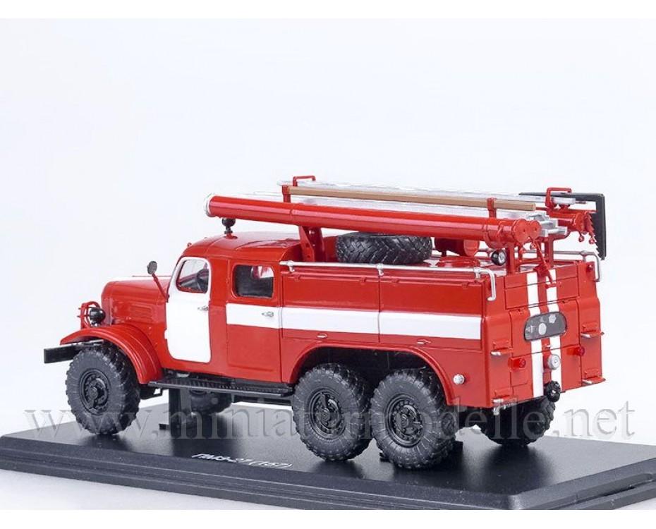 1:43 ZIL 157 Tankloeschfahrzeuge PMZ 27, FW Feuerwehr