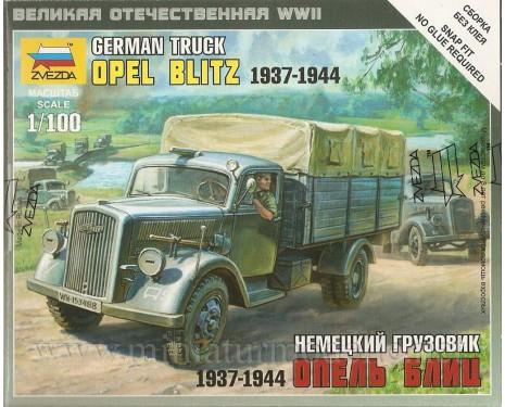 1:100 Opel Blitz Pritsche Plane 1937-1944