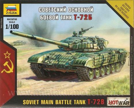 1:100 T-72 B sowjetischer Kampfpanzer