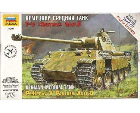 1:72 Pz.Kpfw. V Panther Ausf. D mittlerer deutscher Panzer