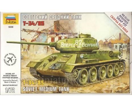 1:72 T-34/85 mittlerer sowjetischer Panzer