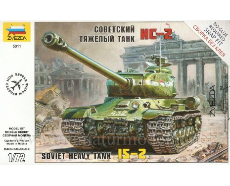 1:72 IS-2 Soviet heavy tank