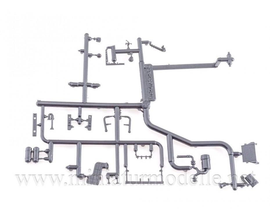 1:43 KAMAZ 43502 Tankloeschfahrzeuge AC-3-40 FW Feuerwehr, Bausatze