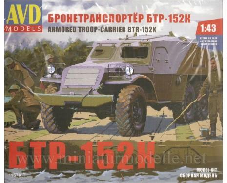 1:43 SPW 152 K Schützenpanzerwagen, Militär, Bausatze