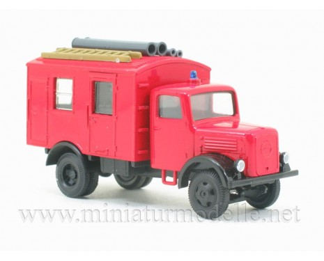H0 1:87 Klöckner Deutz-Magirus closed side, fire