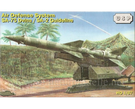 H0 1:87 Air defense system SA-75 Dvina SA-2 Guideline military