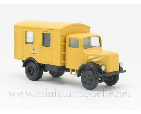 H0 1:87 Magirus S330 Koffer, Deutsche Post