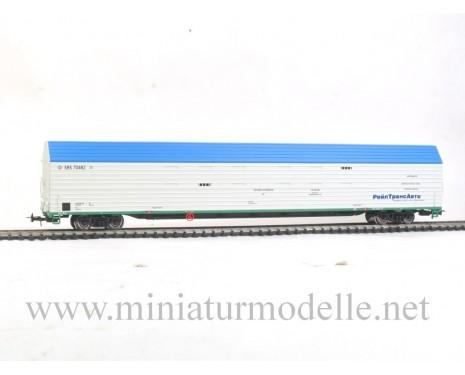 1:87 H0 009 Car transporter mod. 11-1291 of the RZD, era 5
