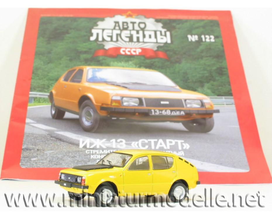 1:43 Moskvitch IZ 13 START with magazine #86