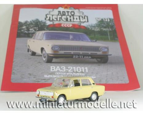 1:43 VAZ 21011 LADA mit Zeitschrift #99