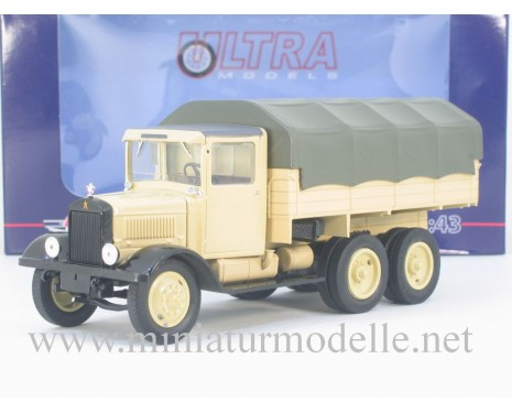 1:43 YaG 10 D truck with canvas top