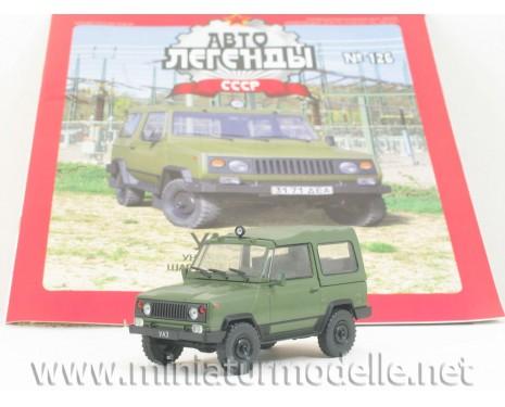 1:43 UAZ 3171 militär mit Zeitschrift  #63