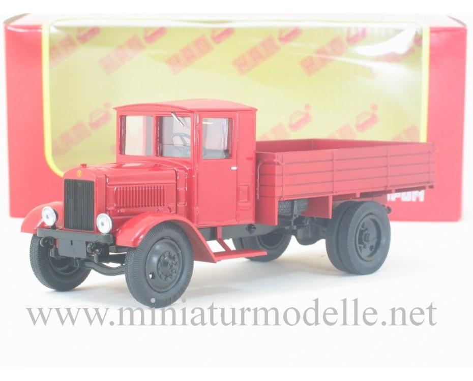 1:43 Ya 7 truck open side, H273, Nash Avtoprom by www.miniaturmodelle.net
