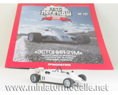 1:43 Estonia 21 M russische Formel with magazine #61