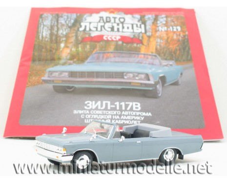 1:43 ZIL 117 V cabrio with magazine #91