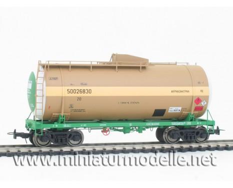 1:87 H0 Kesselwagen mod. 15-1610-02 zum Transport von Akrilonitril, RZD 5. Epoche, Kleinserien