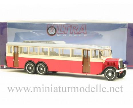 1:43 JaA 2 Gigant Bus 1934, beige rot