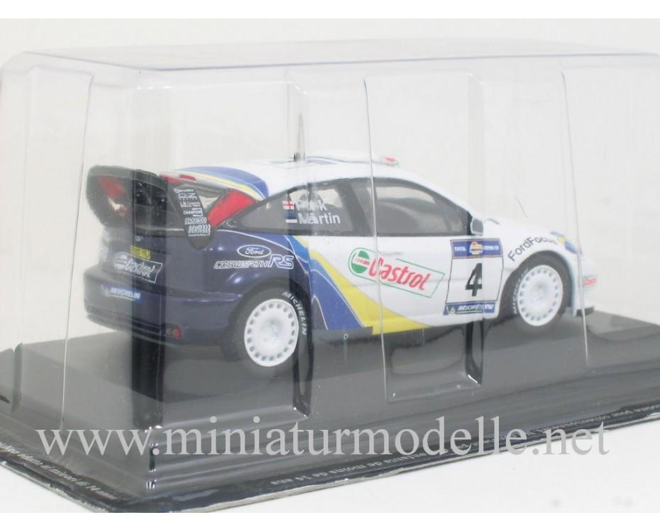 1:43 Ford Focus WRC, Acropolis Rally 2003, M. Martin - M. Park