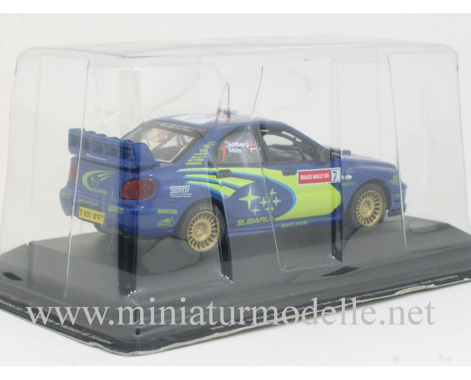 1:43 Subaru Impreza WRC, Great Britain Rally 2003, P. Solberg - P. Mills
